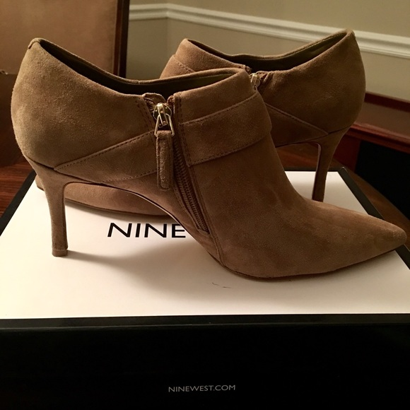 Nine West Shoes - Nine West Suede Ankle Boots